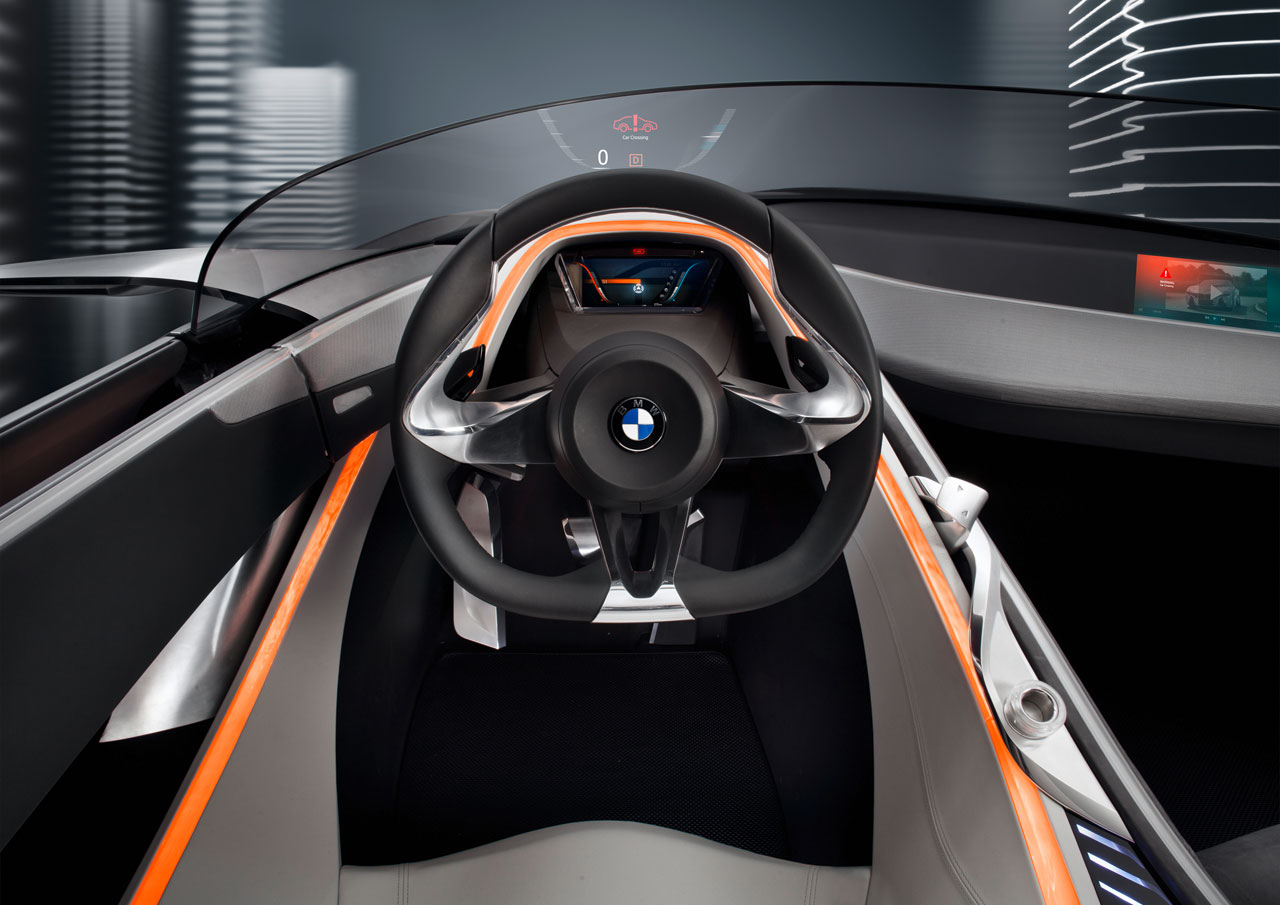 bmw vision connecteddrive concept interior car body design. Black Bedroom Furniture Sets. Home Design Ideas