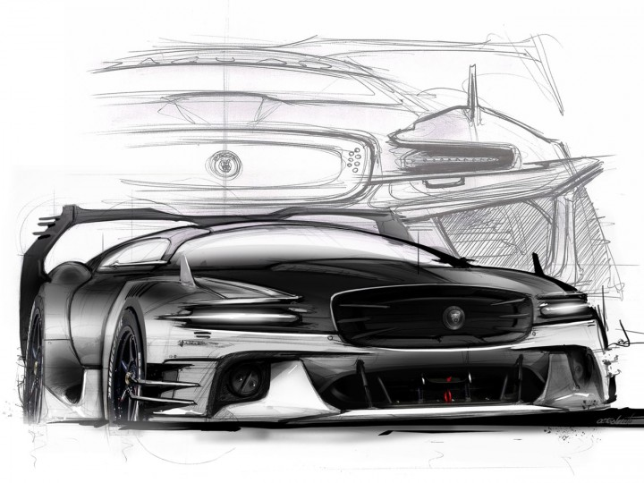 Bertone Jaguar B99 Concept Gt Car Body Design