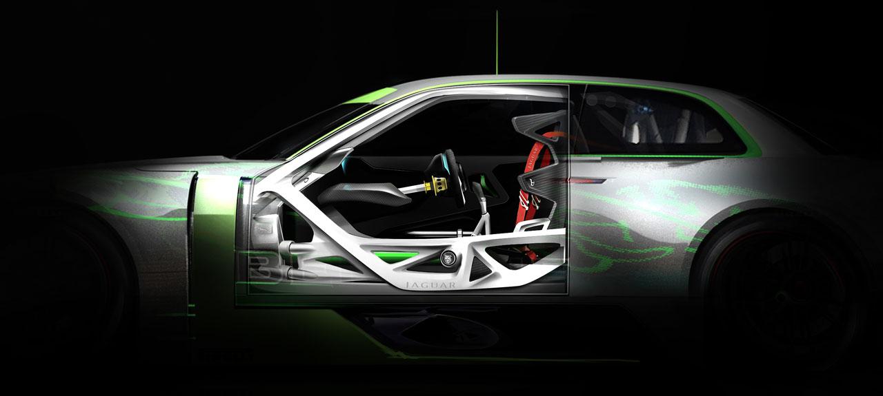 Bertone Jaguar B99 Concept Gt Interior Rendering Car Body Design