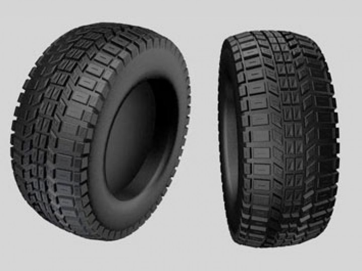 How to create a car tire in Cinema 4D