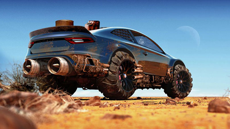 Ford Mad Max Concept by Sven Delcour