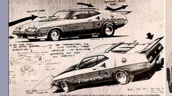 Ford Mad Max Interceptor - Design Sketches