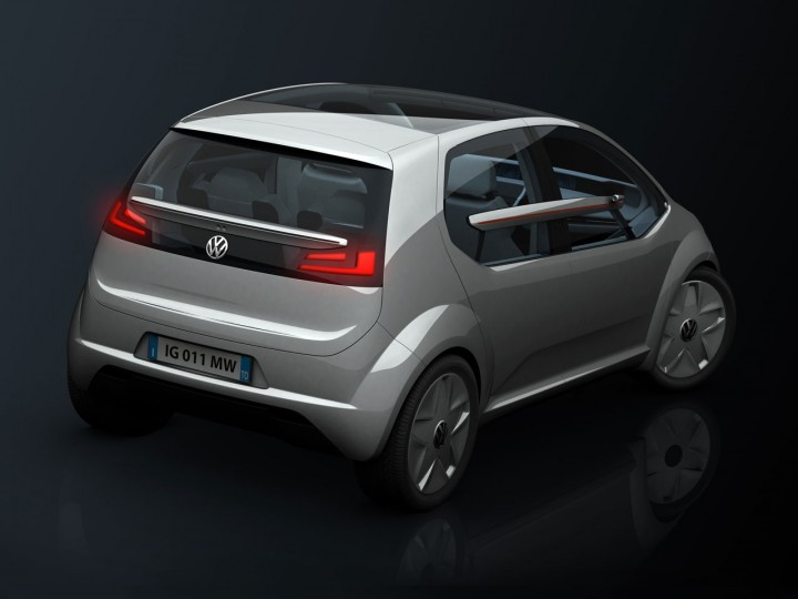 Italdesign Volkswagen Go Concept Car Body Design