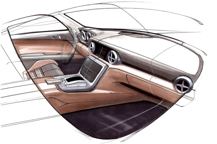 mercedes benz slk design sketches car body design. Black Bedroom Furniture Sets. Home Design Ideas