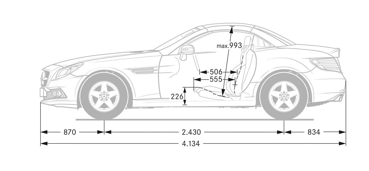 Mercedes benz slk dimensions blueprint car body design mercedes benz slk dimensions blueprint malvernweather Choice Image