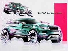 Range Rover Evoque: the design