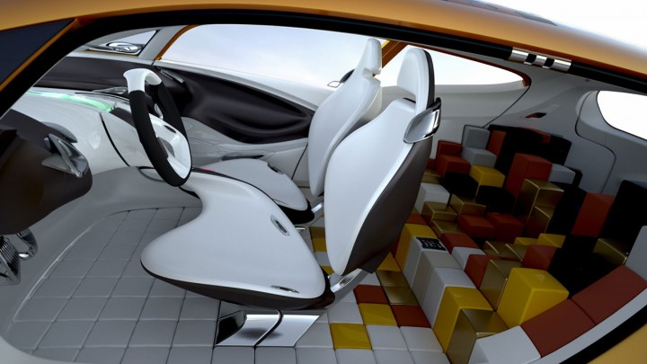 Renault R Space Concept Car Body Design