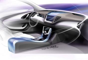 luxgen neora concept preview car body design. Black Bedroom Furniture Sets. Home Design Ideas