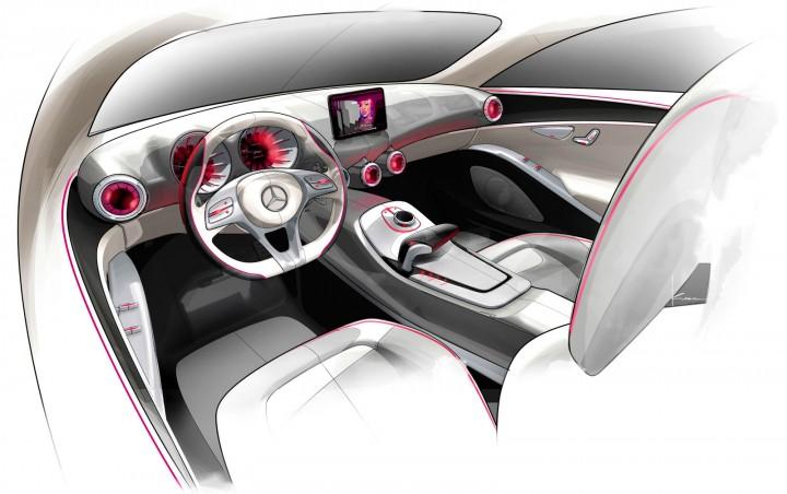 mercedes benz concept a class design sketches car body design. Black Bedroom Furniture Sets. Home Design Ideas