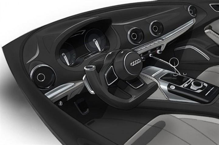 New Audi A3 preview sketches Car Body Design