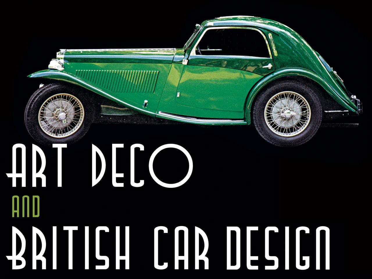 art deco and british car design. Black Bedroom Furniture Sets. Home Design Ideas