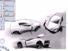 Automotive-Sketch-in-SketchBook-Pro-by-Kyle-Runciman