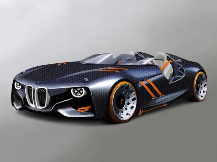 bmw 328 hommage concept car