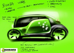 Car Design Sketch by Song Wei