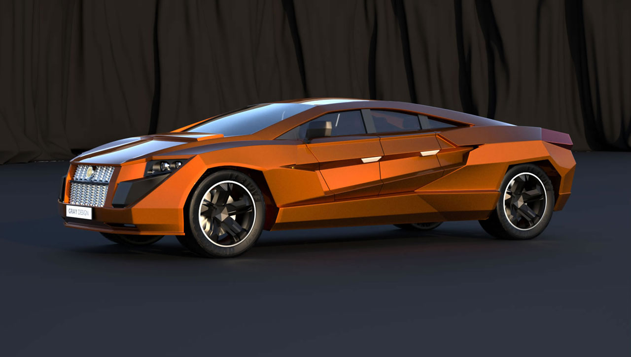 Dartz Prombron Nagel by Gray Design - Car Body Design