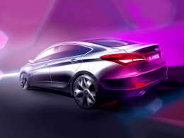 Hyundai i40 Sedan Design Sketch