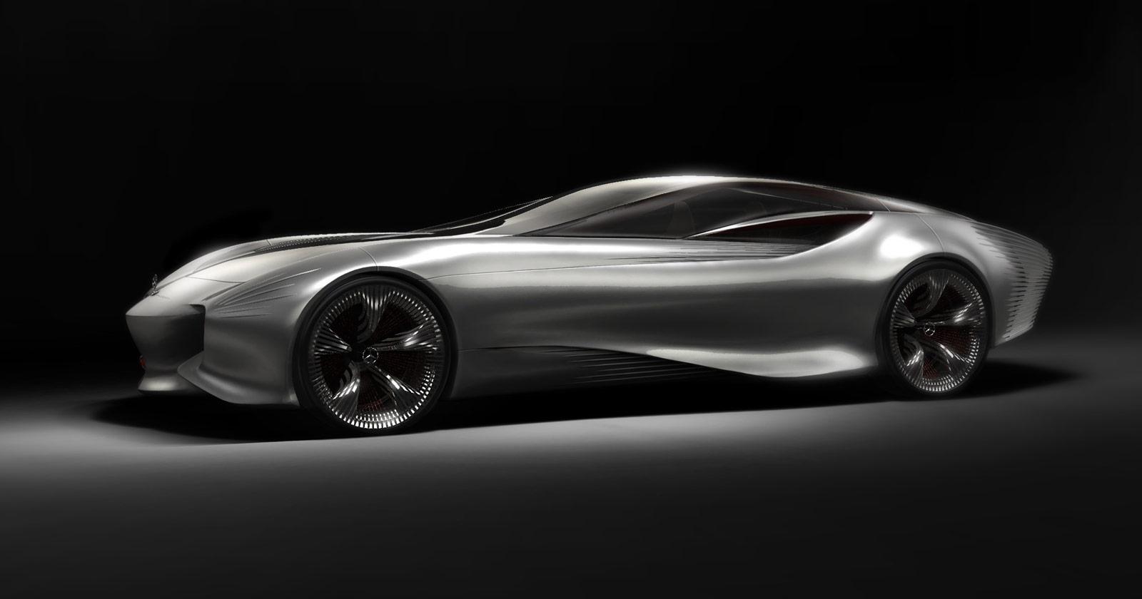 Mercedes benz aria concept electric luxury car for 2030 for Mercedes benz concept electric car