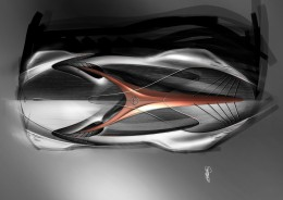 Mercedes-Benz Aria Concept Design Sketch