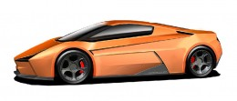 Mostro Di Potenza SF22 Design Sketch