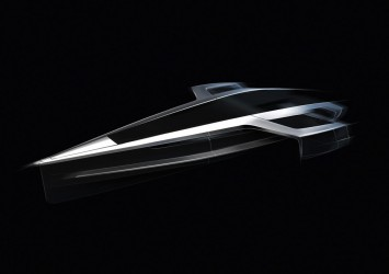 Audi Trimaran Concept Car Body Design