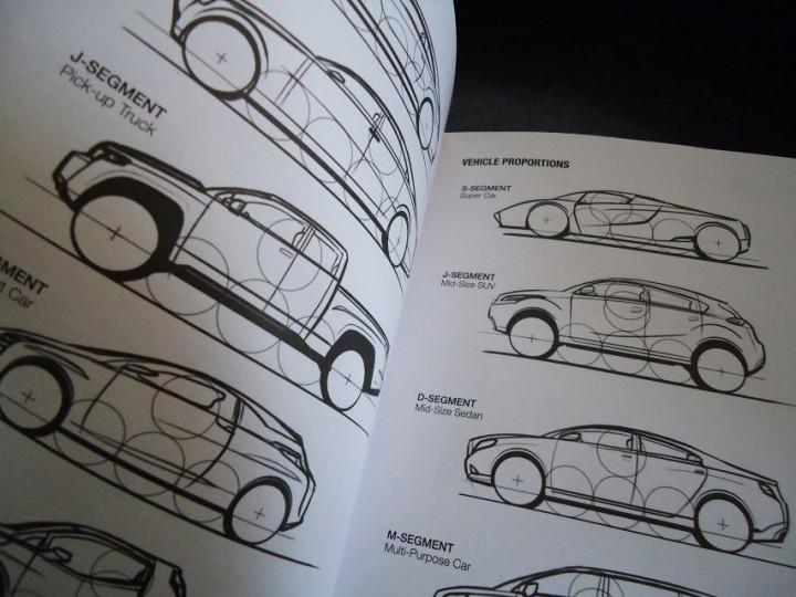 i draw cars sketchbook and reference guide car body design. Black Bedroom Furniture Sets. Home Design Ideas