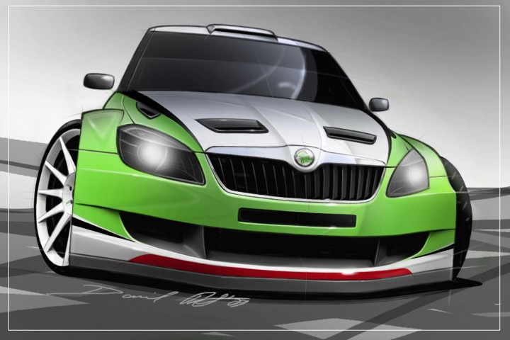 skoda fabia rs 2000 design concept car body design. Black Bedroom Furniture Sets. Home Design Ideas