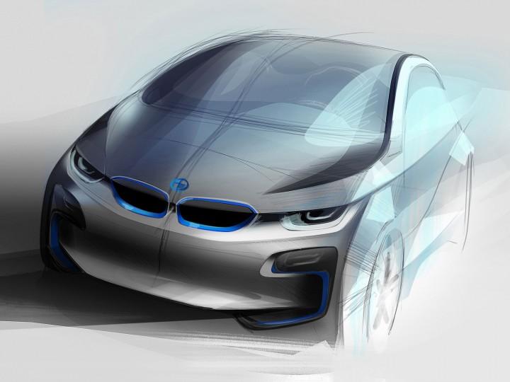 Bmw I3 Concept Car Body Design