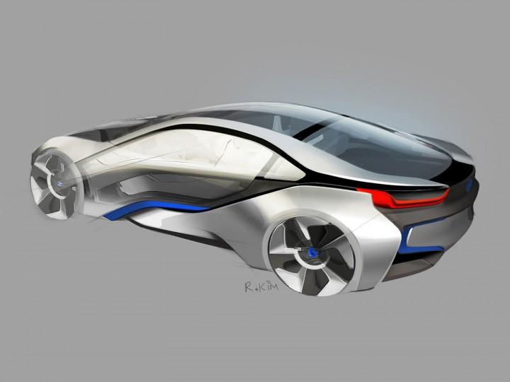 BMW i8 Concept - Car Body Design
