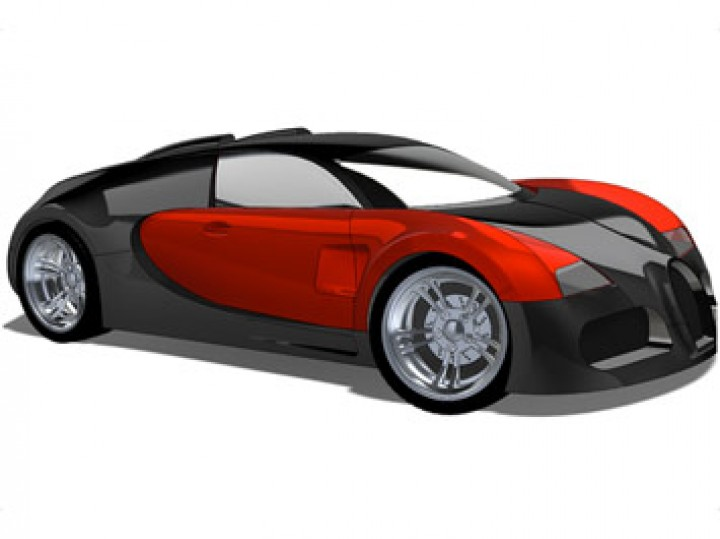 How to model a Bugatti Veyron in SolidWorks