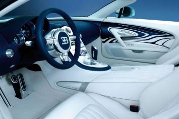 Bugatti Cars Interior on An All New Limited Edition Bugatti Veyron L Or Blanc Sports Car