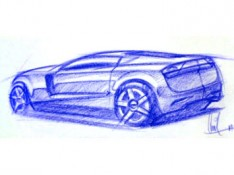 Car-Sketch-by-Arvind-Ramkrishna