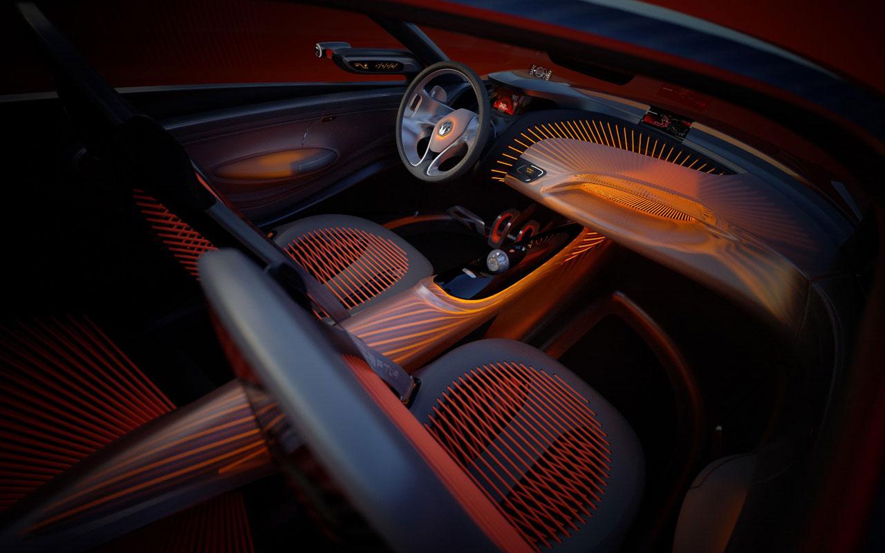 Renault Captur Concept Interior - Car Body Design