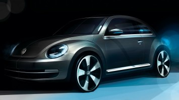 VW New Beetle Design Sketch