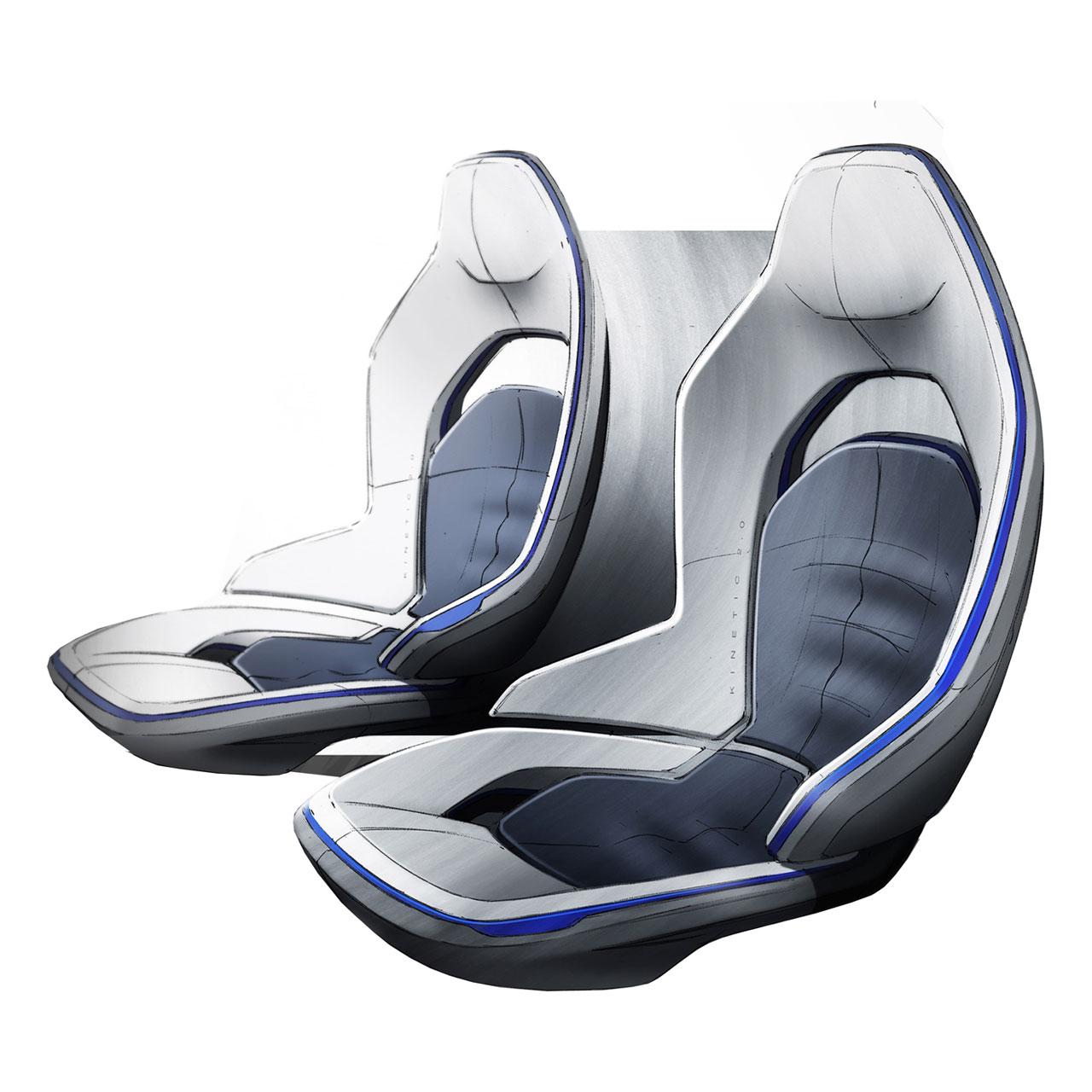 ford evos concept interior design sketch car body design. Black Bedroom Furniture Sets. Home Design Ideas