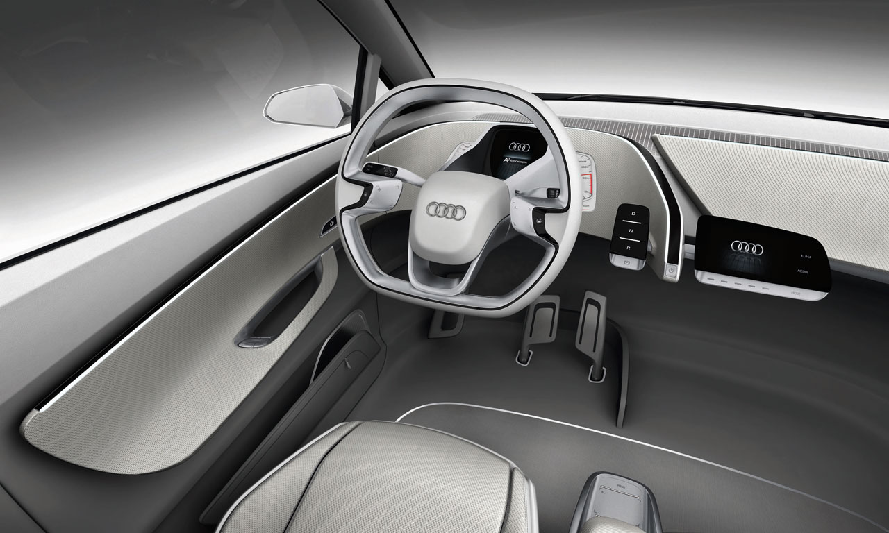 Audi a2 concept interior 04 for Car inner decoration