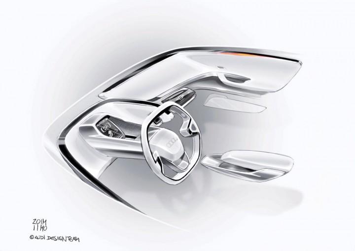 Audi A2 Concept Car Body Design