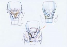 BMW Concept e Design Sketches