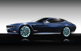 Jensen Interceptor Design Sketch