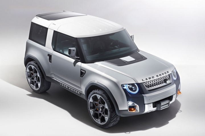 Land Rover DC100 and DC100 Sport Concepts  Car Body Design