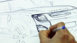 Land Rover DC100 Concept Design Sketch