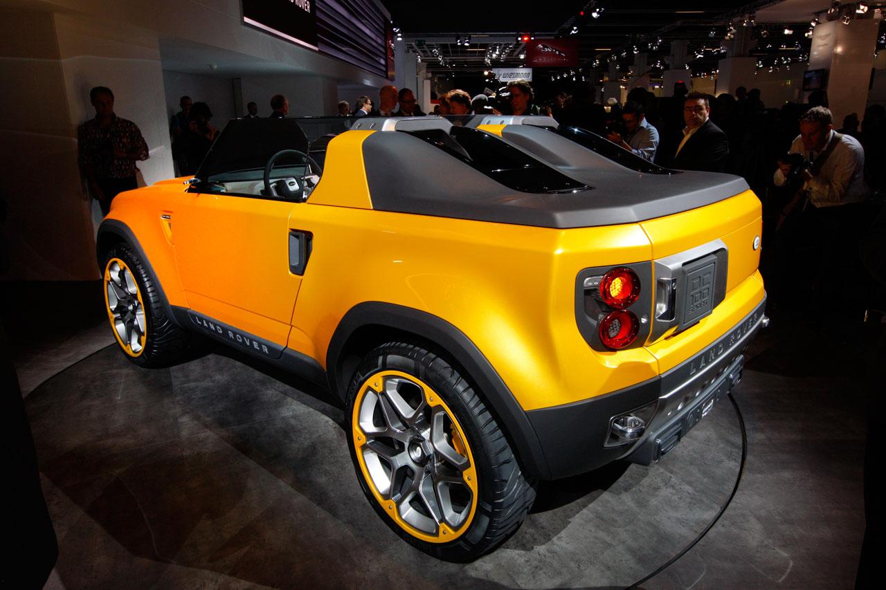 Land Rover DC100 Sport Concept at Frankfurt - Car Body Design