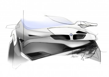 Learning Curves - BMW Concept Sketch