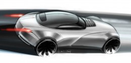 Learning Curves - Concept Car Sketch