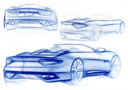 Maserati design sketches
