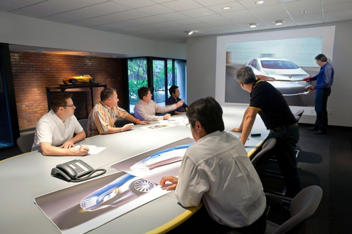 Mercedes Benz Advanced Design Studio In Carlsbad Design Gallery Car Body Design