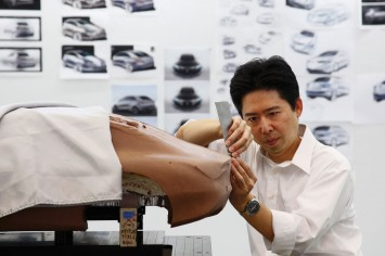 Mercedes-Benz Advanced Design Studio in Tokyo - Clay Modeling