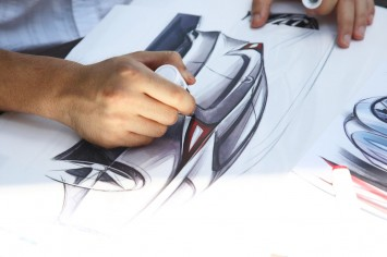 Mercedes-Benz Advanced Design Studio in Tokyo - Design Sketching