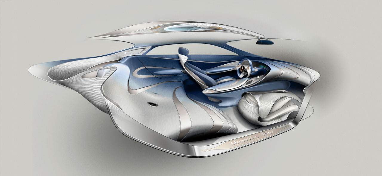 mercedes benz f 125 concept car body design. Black Bedroom Furniture Sets. Home Design Ideas