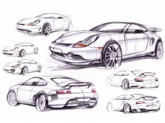 Porsche-Sketches-by-Dmitriy-Samal