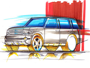 Suv Drawing Tutorial Car Body Design